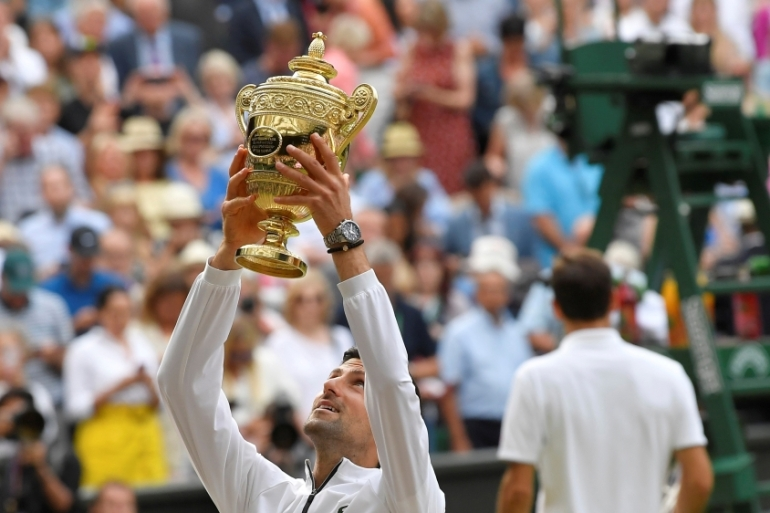 Novak Djokovic Beats Roger Federer To Win Fifth Wimbledon Title Sports News Al Jazeera