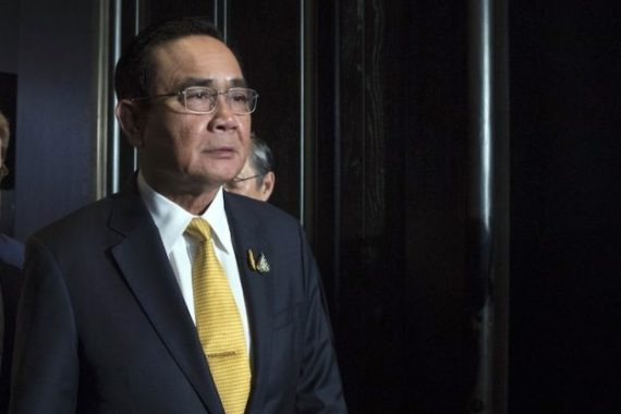 Prayuth Chan-ocha had said he would respect the court's decision even if it ruled against him [Bloomberg]