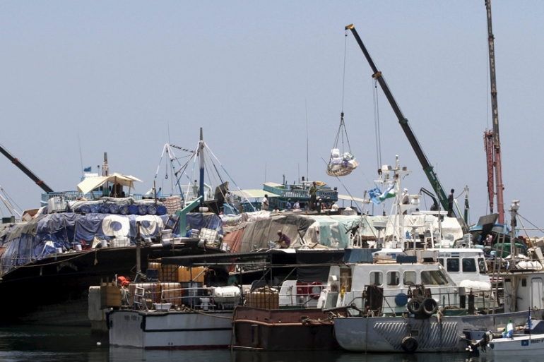 The UAE has lucrative deals involving the Port of Bosaso in Somalia's Puntland region [Feisal Omar/Reuters]
