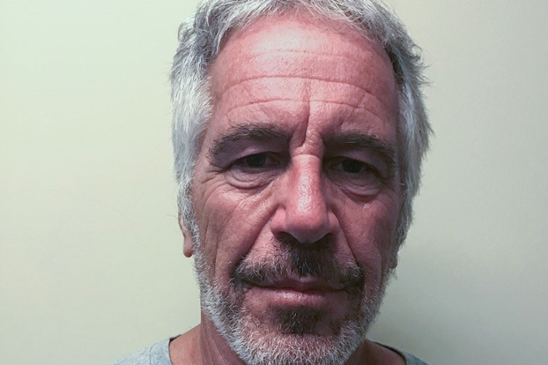 Reuters sources said a principal focus of the FBI's investigation is Ghislaine Maxwel, Jeffrey Epstein's former girlfriend, and other 'people who facilitated' the late financier's allegedly illegal behaviour [File: Handout/New York State Division of Criminal Justice Services/Reuters]