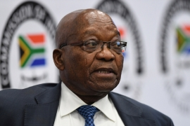 Former South African president Jacob Zuma says there had been a decades-long plot against him [Reuters]