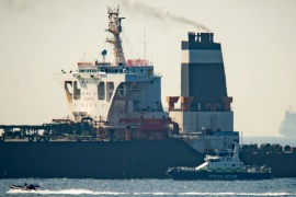 Tanker carrying Iranian oil stopped off Spain's coast