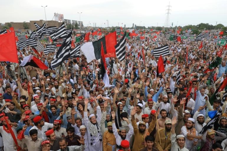 Pakistan opposition holds 'black day' protests against PM Khan | Pakistan |  Al Jazeera
