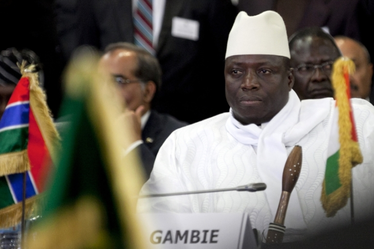 Yahya Jammeh's 22-year rule as president of The Gambia [File: Joe Penney/Reuters]
