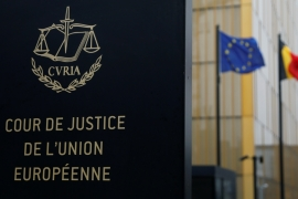 The European Court of Justice has invalidated the Privacy Shield deal with the US [File: Francois Lenoir/Reuters]