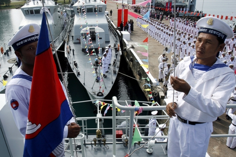 The Wall Street Journal reported that Cambodia had agreed to allow China exclusive access to part of its naval base on the Gulf of Thailand [FILE/Chor Sokunthea/Reuters]