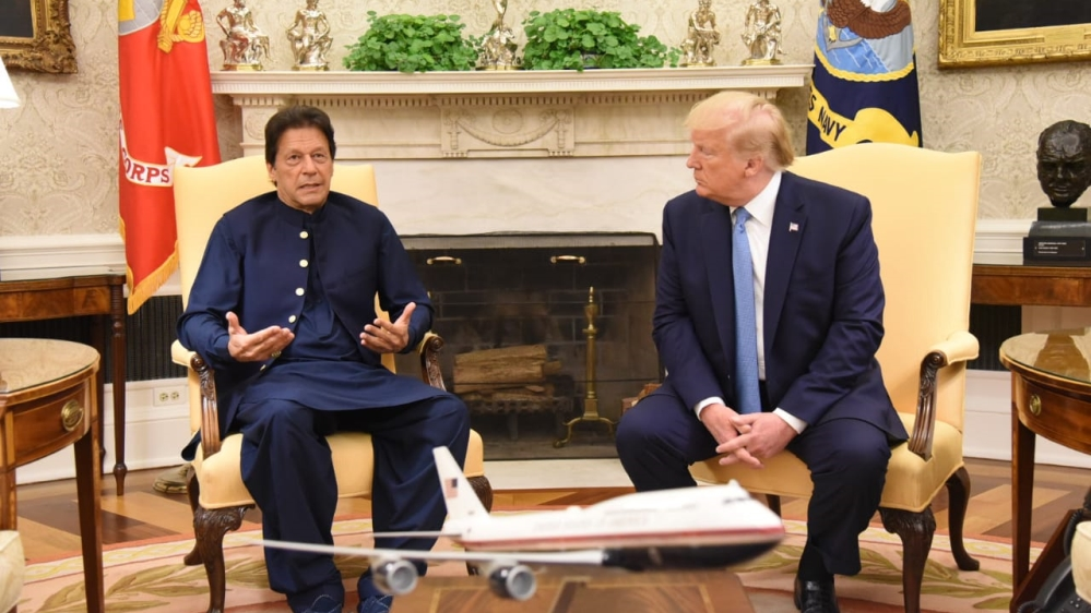 Imran khan visit to US