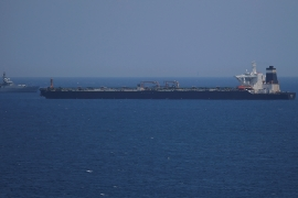 US 'applied to seize' detained Iranian vessel in Gibraltar