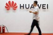 Huawei has a large sprawling office complex in Dongguan [File: Thomas Peter/Reuters]