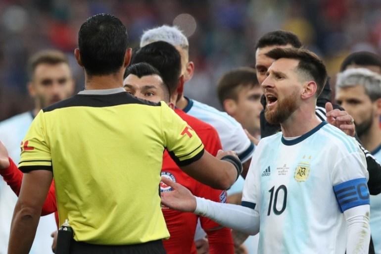 Messi Banned From International Football For Three Months Latin America News Al Jazeera