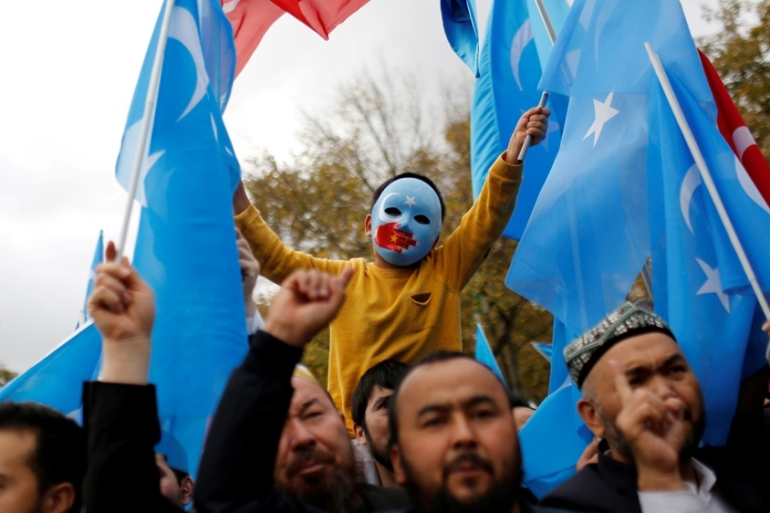 The US is stepping up pressure on China over the crackdown in Xinjiang. Some Uighurs have escaped to Turkey. [File: Murad Sezer/Reuters]