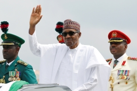 Nigerian President Muhammadu Buhari welcomed the court ruling on Wednesday [File: Afolabi Sotunde/Reuters]
