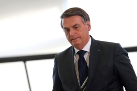 Bolsonaro has denounced Macron's plan for an international alliance to protect the Amazon [File: Reuters]