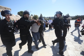 Tension at Al-Aqsa compound as Muslim, Jewish festivals overlap