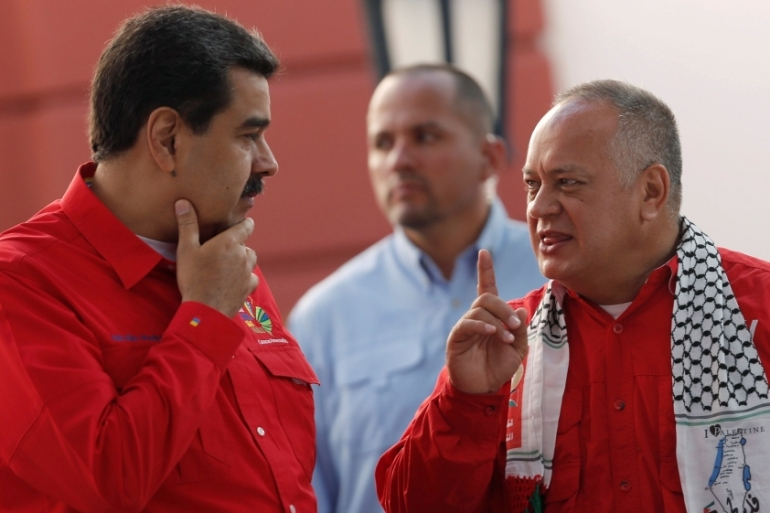 As president of the country's Constituent Assembly, Cabello, 56, is a major power broker inside Venezuela [Manaure Quintero/Reuters]