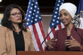 Congresswomen Rashida Tlaib and Ilhan Omar have announced that they intend to travel to occupied Palestine in August [File: AP]