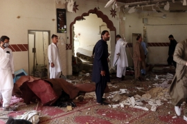 The imam of the mosque, 25km from the southwestern city of Quetta, was among those killed, police said [Reuters]