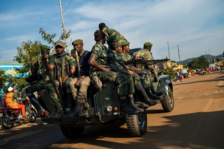 In late 2019, the Congolese army began military operation against armed groups operating in the east of the country [File: Jerome Delay/AP Photo]