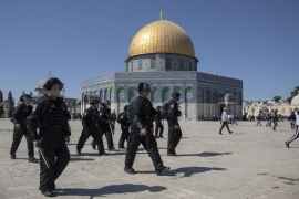 Israeli forces attack Palestinian worshippers in Jerusalem's flashpoint Al-Aqsa Mosque compound [File: Anadolu Agency]