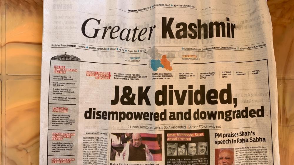 India Revokes Kashmir S Special Status India Al Jazeera
