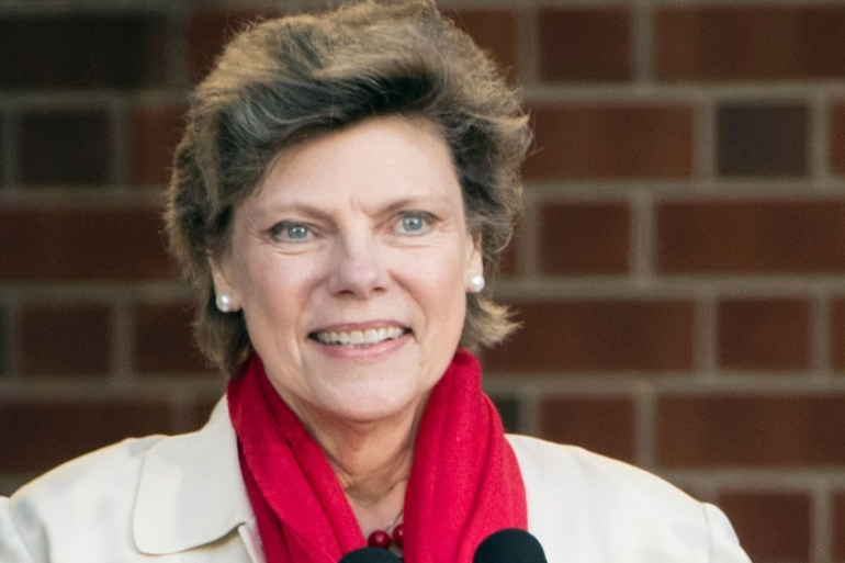 Cokie Roberts speaks during the opening ceremony for Museum of the American Revolution in Philadelphia [File: Matt Rourke/AP]