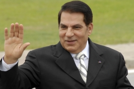 Former Tunisian President Zine El Abidine Ben Ali died on September 19 in Saudi Arabia [File: AP/Hassene Dridi]