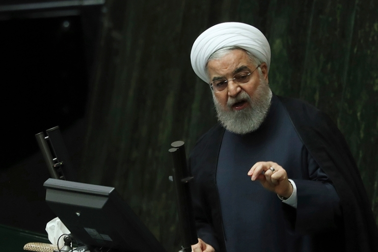 President Rouhani said a decree on its nuclear programme will be announced today or tomorrow [Vahid Salemi/AP]