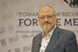 Saudi journalist Jamal Khashoggi was assassinated at the Saudi consulate in Istanbul on October 2, 2018 [File: Omar Shagaleh/Anadolu]