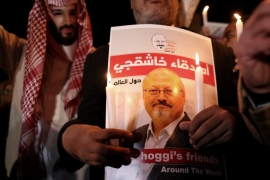 Khashoggi was last seen alive entering Saudi Arabai's consulate in Istanbul on October 2 last year [Erdem Sahin]