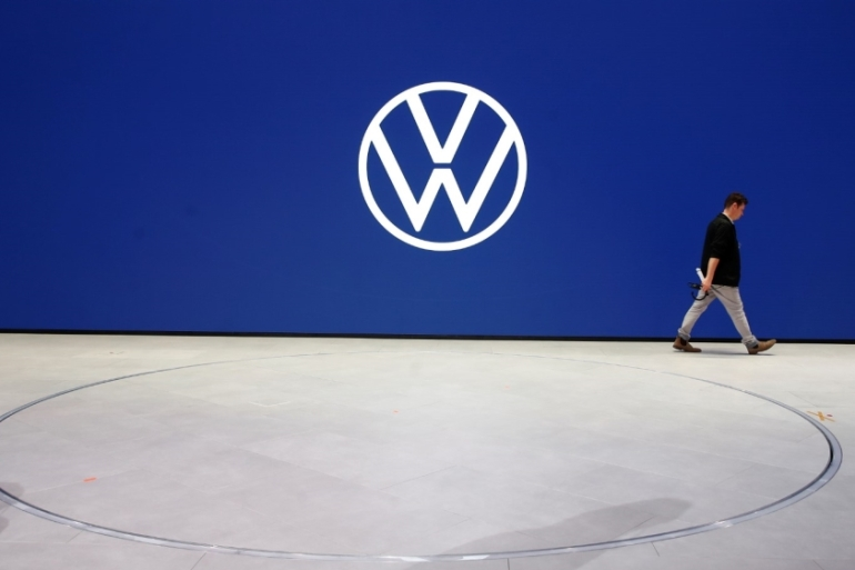 Volkswagen was most recently fined $9.5m in August by South Korea over the installation of 'illicit devices' that enabled its diesel vehicles cheat emissions standards [File: Wolfgang Rattay/Reuters]
