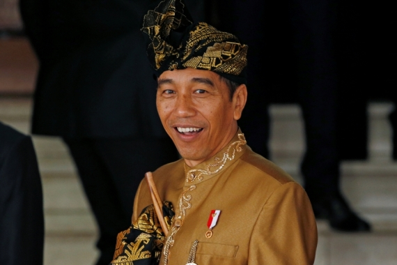 Indonesia's President Joko Widodo, popularly known as Jokowi, has called for the country to move up the manufacturing value chain [File: Willy Kurniawan/Reuters]