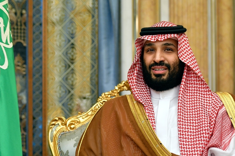 Saudi Arabia's Crown Prince Mohammed Bin Salman has denied involvement in the murder of journalist Jamal Khashoggi [File: Mandel Ngan/via AP Photo]