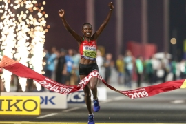 Chepngetich breaks the previous record set by Ethiopia's Ababel Yeshaneh in February 2020 [File: Reuters]
