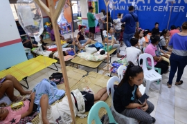 The Philippine health department declared a national dengue epidemic in August as deaths rose [File: EPA/Leo Solinap]