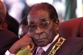 Former President Robert Mugabe's rule culminated in a massive economic crisis for Zimbabwe, once one of Africa's richest countries [Reuters]