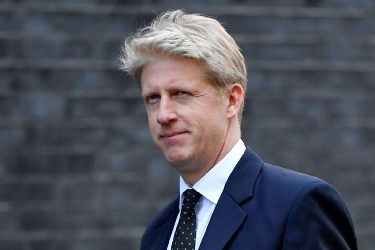 Brexit: Boris Johnson's brother resigns as Tory minister and MP | Boris  Johnson News | Al Jazeera