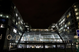 The Georges-Pompidou European Hospital where Schumacher has reportedly been admitted [Benoit Tessier/Reuters]