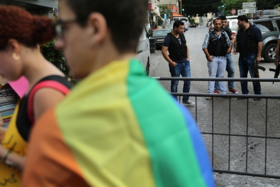 The once-growing space for the LGBTQ community in Lebanon has been shrinking in recent years [File: Hussein Malla/The Associated Press]