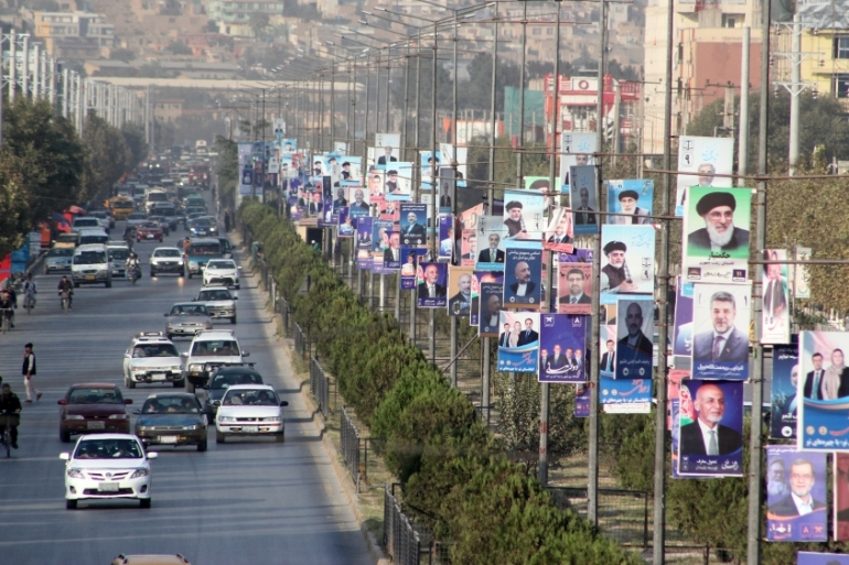 Afghanistan will hold its fourth presidential election on September 28 [Sayed Khodaberdi Sadat/Anadolu Agency]
