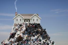 What does it take to become a 'tiny trash' household?