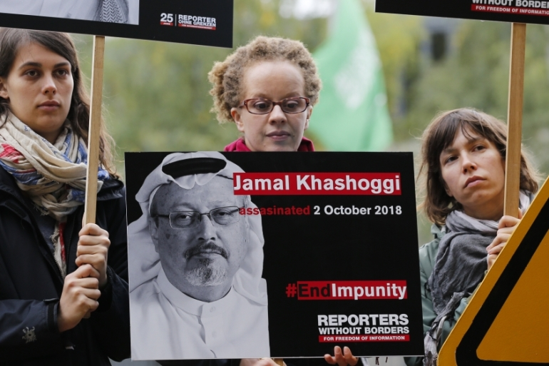 In November, the US Central Intelligence Agency concluded that Saudi Arabia's crown prince ordered the killing of Khashoggi [Anadolu]