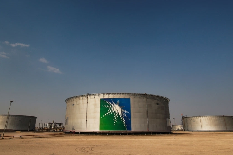 Aramco produces 10 million barrels of crude oil a day and provides some 10 percent of global demand [File: Maxim Shemetov/Reuters]