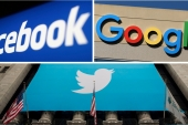 Facebook and Twitter have been under fire in recent years for allowing racist and discriminatory messages to spread online, while Google's YouTube has tried to decrease the spread of misinformation about COVID-19 and US politics [File: Reuters]