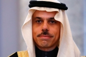 Prince Faisal said he was confident that Biden's incoming US administration would pursue policies that help regional stability [Fabrizio Bensch/Reuters]