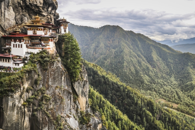 The Kingdom of Bhutan, located on the ancient Silk Road in South Asia, is listed as the top place to travel in 2020 [File:Getty Images]