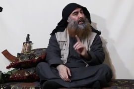 The head of the Islamic State of Iraq and the Levant, Abu Bakr al-Baghdadi, was killed in a US raid near on a compound in northwest Syria on October 26, 2019 [AFP]