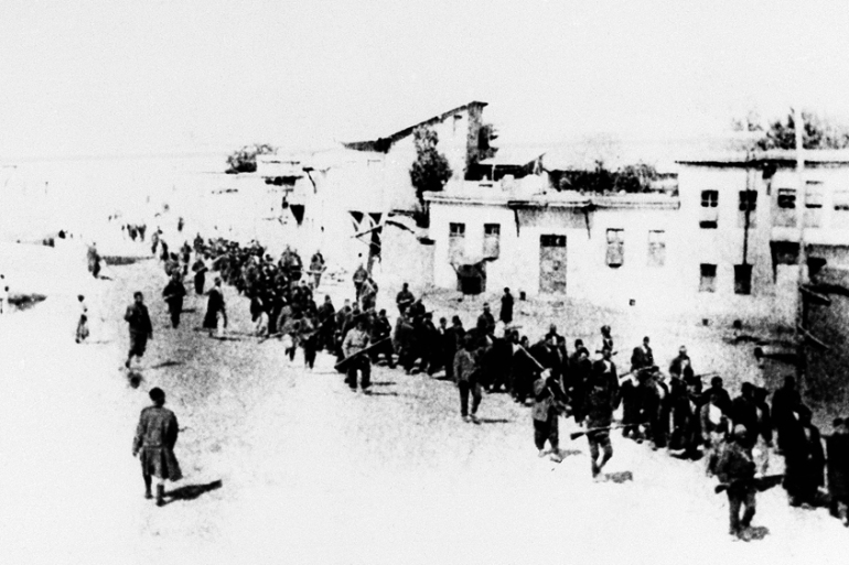 Some 1.5 million Armenian men, women, and children lost their lives during the final years of the Ottoman Empire [File: AP Photo]