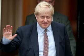 Boris Johnson has been struggling to get an election in recent months [Hannah McKay/Reuters]