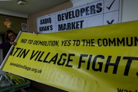 Seven Sisters Latin Village traders are fighting to save their market, a community centre in north London [Yorli Mendoza/Al Jazeera]