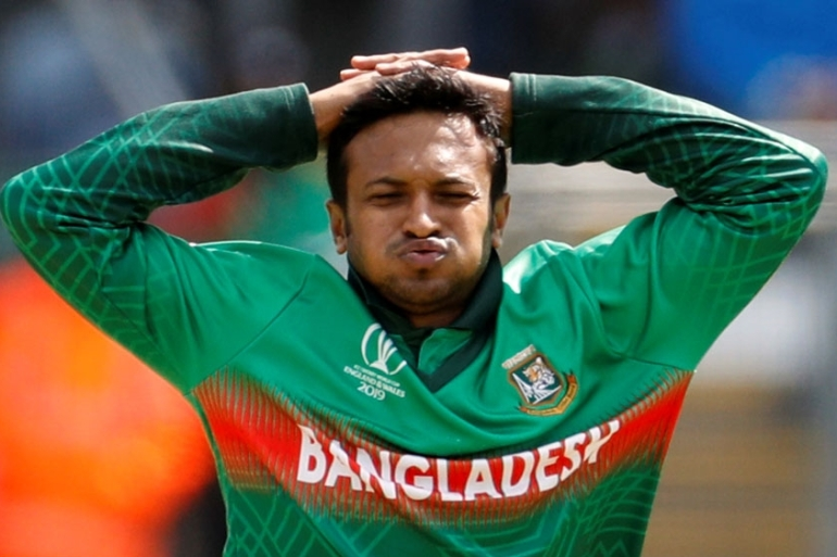 Bangladesh all-rounder Shakib Al Hasan is also in the bracket [File: Action Images via Reuters/John Sibley]